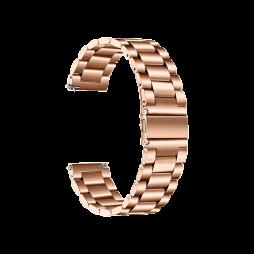 Kovinski pašček (22mm) - Rose Gold
