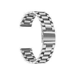 Kovinski pašček (22mm) - Silver