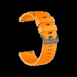 Silikonski pašček (22mm) - neon oranžen