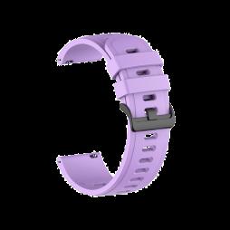 Silikonski pašček (22mm) - neon vijoličen