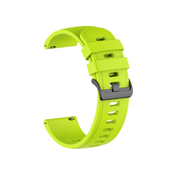 Silikonski pašček (22mm) - neon zelen