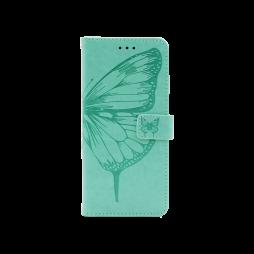 Samsung Galaxy A02s - Preklopna torbica (WLGO-Butterfly) - turkizna