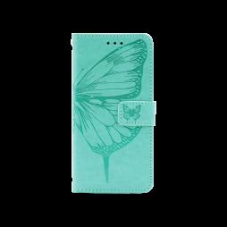 Samsung Galaxy A32 4G - Preklopna torbica (WLGO-Butterfly) - turkizna