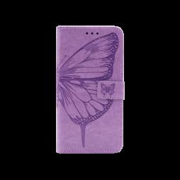 Samsung Galaxy A32 4G - Preklopna torbica (WLGO-Butterfly) - vijolična