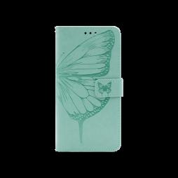 Samsung Galaxy A72 5G - Preklopna torbica (WLGO-Butterfly) - turkizna