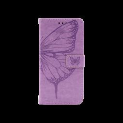 Samsung Galaxy A72 5G - Preklopna torbica (WLGO-Butterfly) - vijolična
