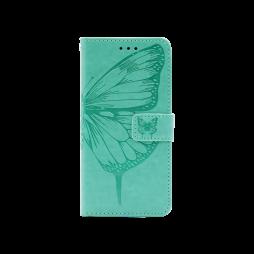 Samsung Galaxy S21 - Preklopna torbica (WLGO-Butterfly) - turkizna