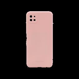 Samsung Galaxy A22 5G - Gumiran ovitek (TPU) - roza M-Type