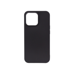 Apple iPhone 13 mini - Gumiran ovitek (TPU) - črn MATT