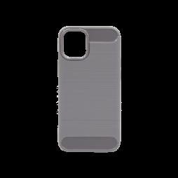 Apple iPhone 13 mini - Gumiran ovitek (TPU) - siv A-Type