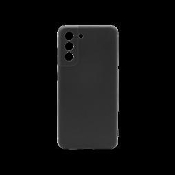 Samsung Galaxy S21 FE - Gumiran ovitek (TPU) - črn MATT