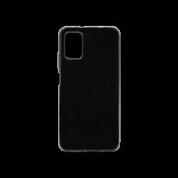 Xiaomi Poco M3 - Gumiran ovitek (TPU) - črn svetleč