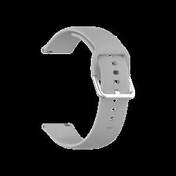 Silikonski pašček za Samsung Watch4 (20mm) - siva