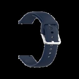 Silikonski pašček za Samsung Watch4 (20mm) - temno moder