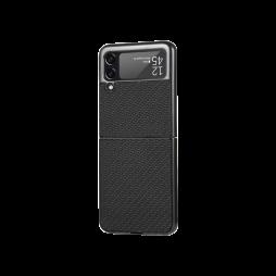 Samsung Galaxy Z Flip 3 5G - Okrasni pokrovček (81) - črn