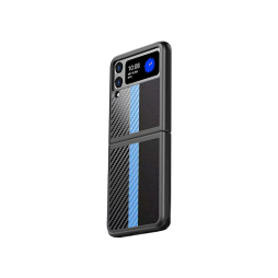 Samsung Galaxy Z Flip 3 5G - Okrasni pokrovček (82) - svetlo moder