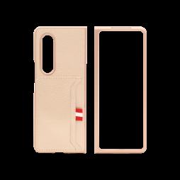 Samsung Galaxy Z Fold 3 5G - Okrasni pokrovček (83) - roza-zlat