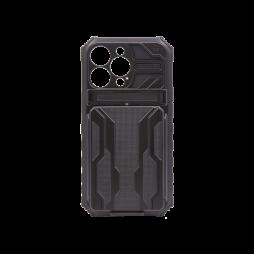 Apple iPhone 13 Pro - Gumiran ovitek (ARM-05) - črn