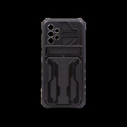 Samsung Galaxy A72 5G - Gumiran ovitek (ARM-05) - črn