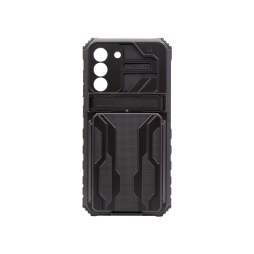 Samsung Galaxy S21 FE - Gumiran ovitek (ARM-05) - črn