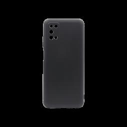Samsung Galaxy A03s - Gumiran ovitek (TPU) - črn MATT