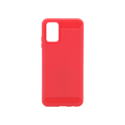 Samsung Galaxy A03s - Gumiran ovitek (TPU) - rdeč A-Type