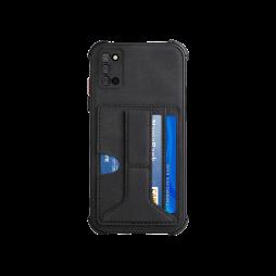 Samsung Galaxy A03s - Gumiran ovitek z žepkom (TPUL) - črn