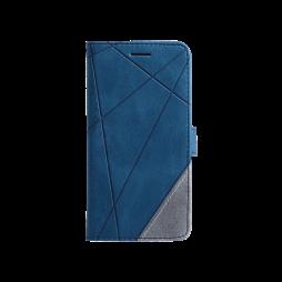 Samsung Galaxy A32 5G - Preklopna torbica (WLGO-Lines) - modra