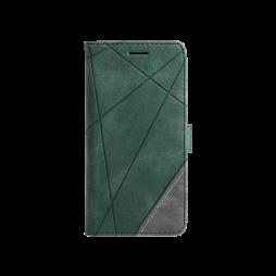Samsung Galaxy A32 5G - Preklopna torbica (WLGO-Lines) - zelena