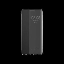 Huawei P30 - Preklopna torbica Original Huawei Smart View - črna