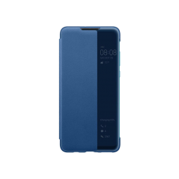 Huawei P30 Lite - Preklopna torbica Original Huawei Smart View - modra