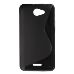 HTC Desire 516 - Gumiran ovitek (TPU) - črn SLine